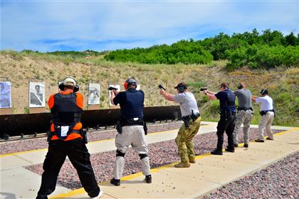 more officers at the range