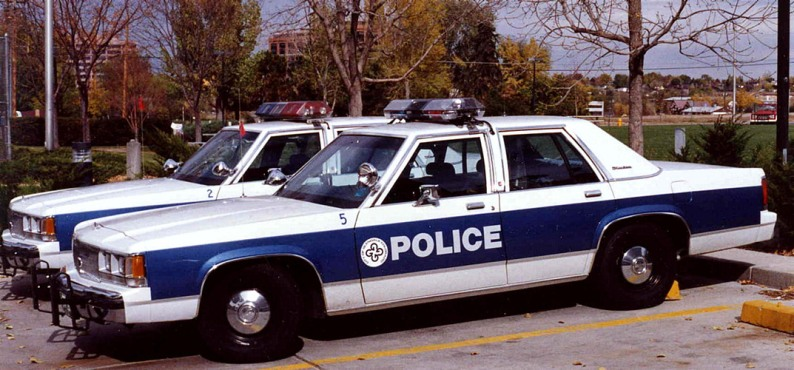 Old Police cars